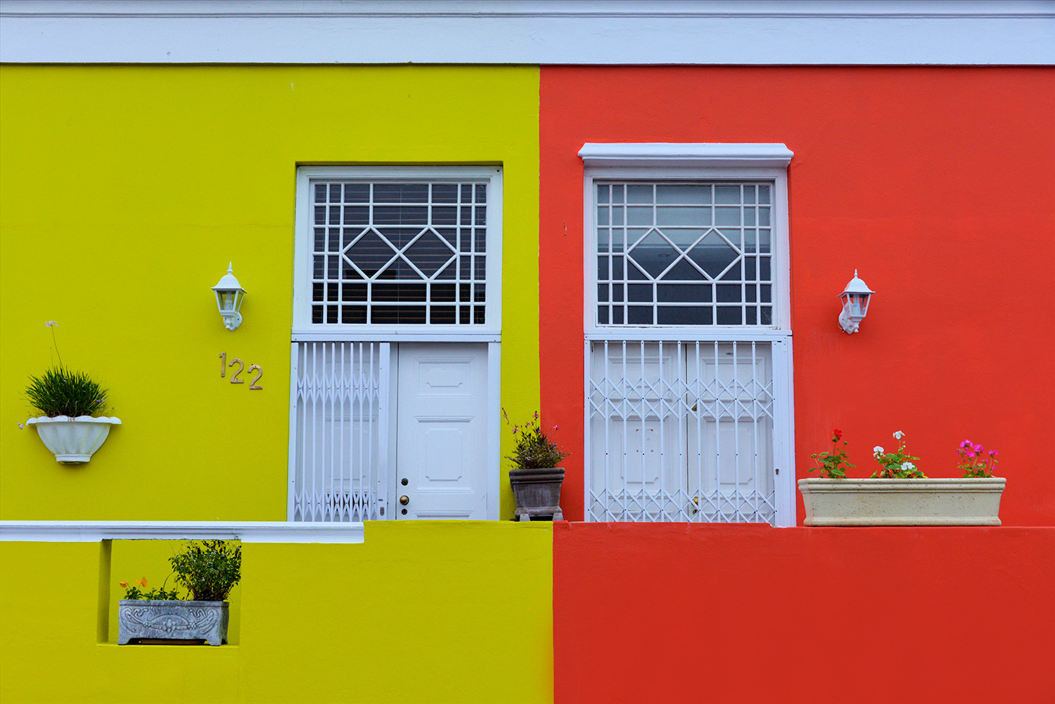 Colourful Bokaap Buildings