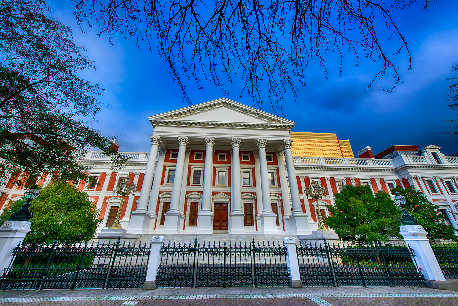 Government Buildings HDR (Company Gardens)