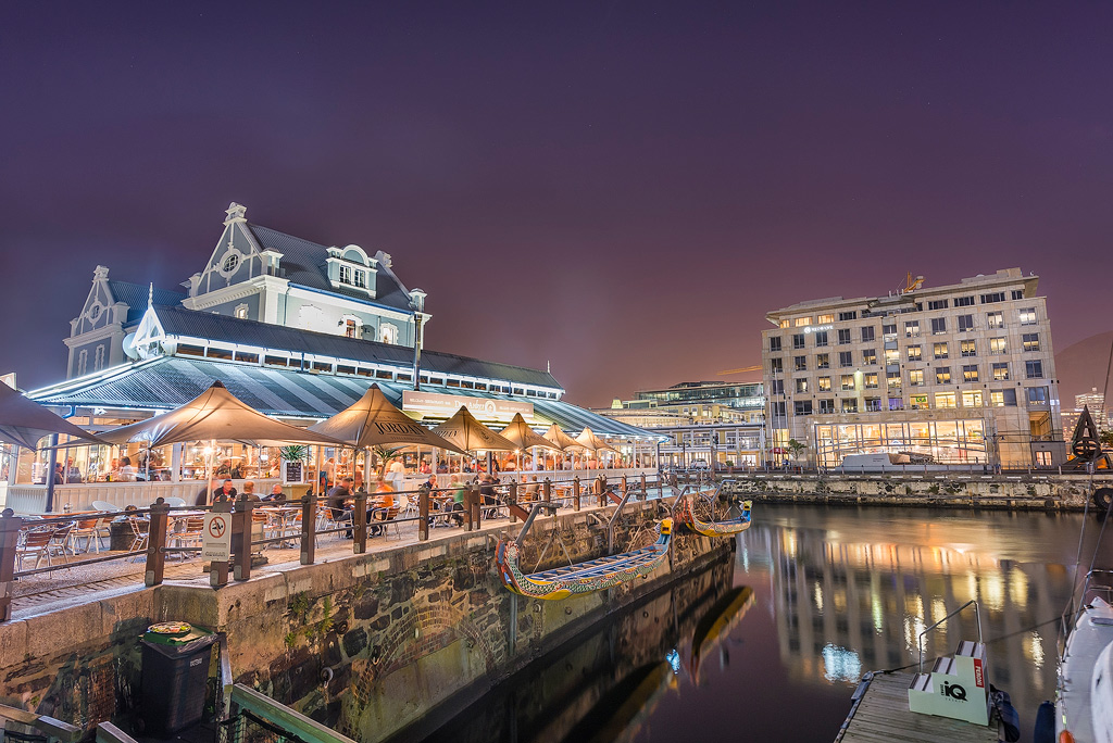 V&A Waterfront Restaurants Twilight