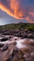 Drakensberg Sunset Tugela River. South Africa Photo Tour