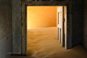 Sunrise Ghost Town Namibia 5. Copyright James Gradwell