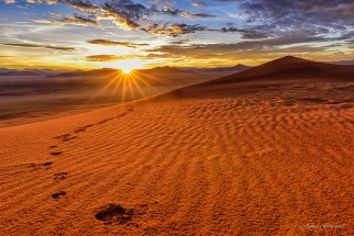 Namibia Dune Sunrise Tirasberg. Namibia photo tours